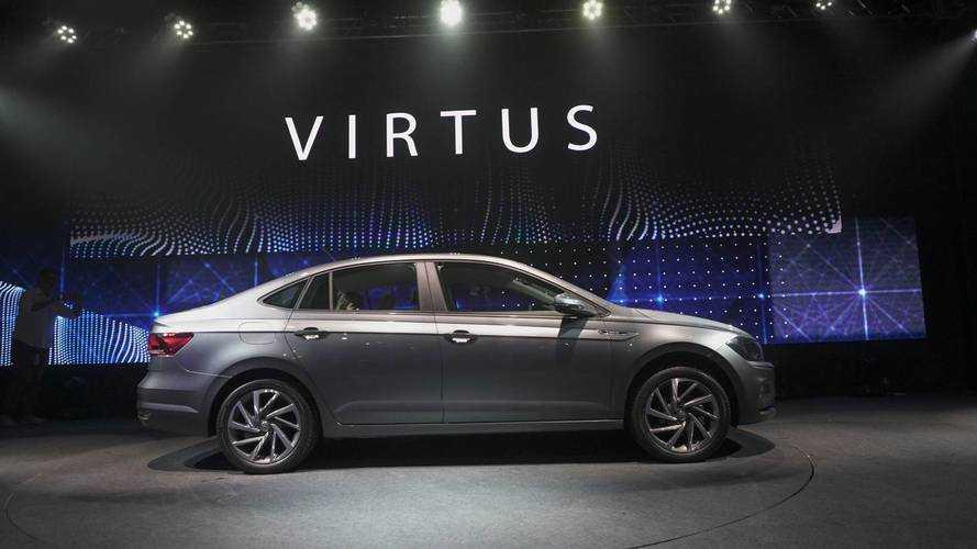 Vídeo - Os detalhes do Novo Volkswagen Virtus, o sedã do Polo