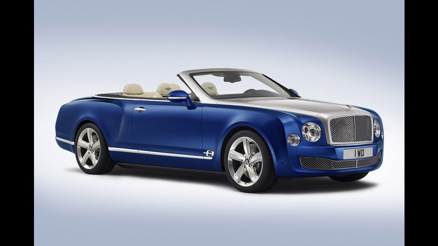 Bentley Grand Convertible, scoperta per pochi