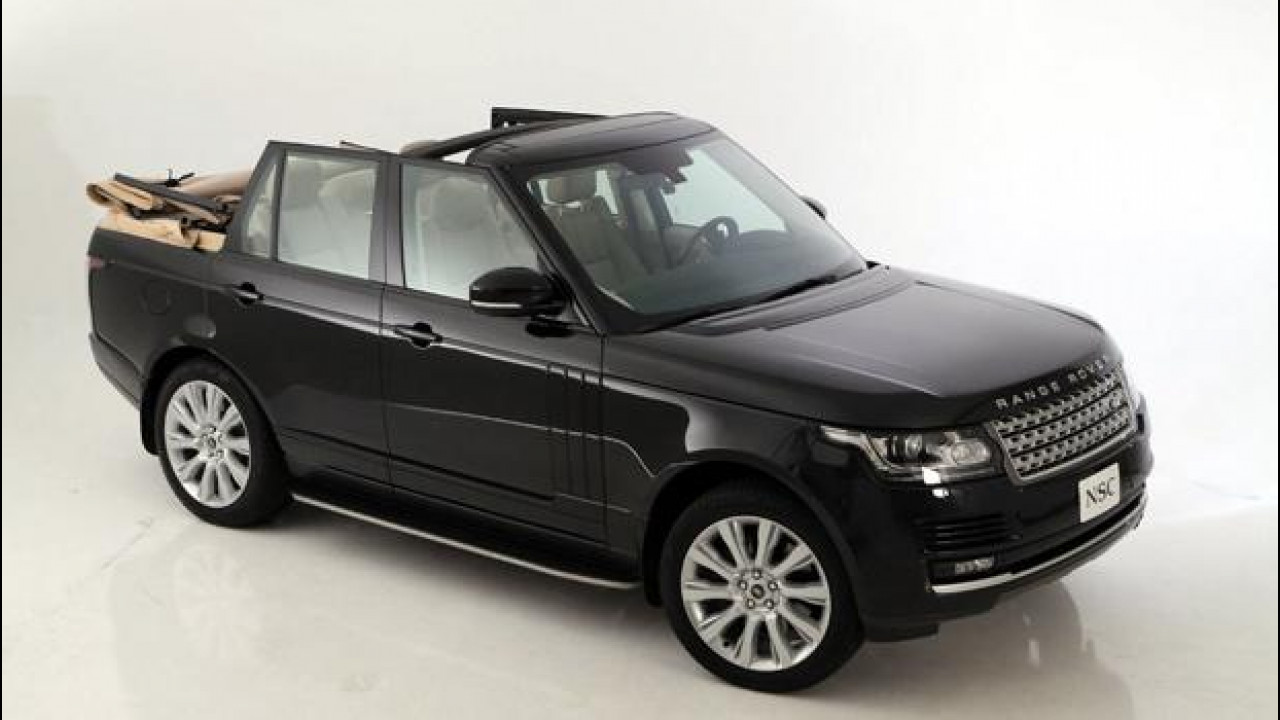 [Copertina] - Range Rover Autobiography Convertible by Newport Convertible Engineering
