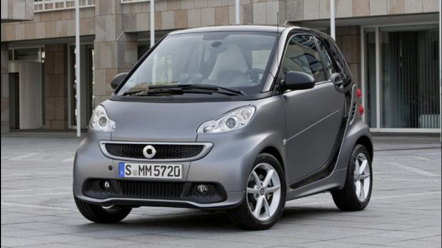 smart fortwo, due posti di seconda mano