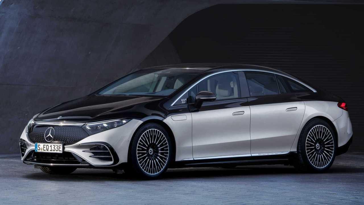 Mercedes EQS: Bis zu 770 km WLTP