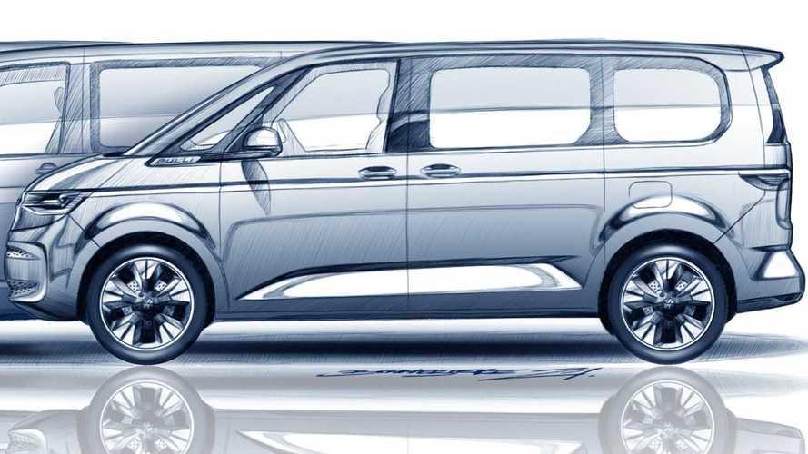 Volkswagen Multivan внешностью напомнит 70-летнего предка