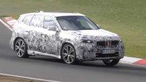 BMW X1 (2022) beim Feintuning auf dem Nürburgring erwischt