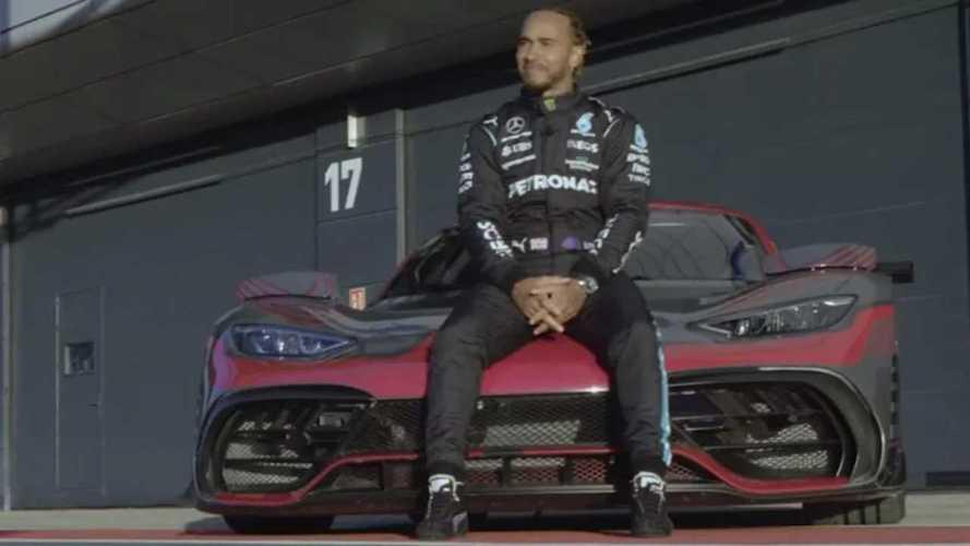 Lewis Hamilton nagy rajongója a Mercedes-AMG új hiperautójának