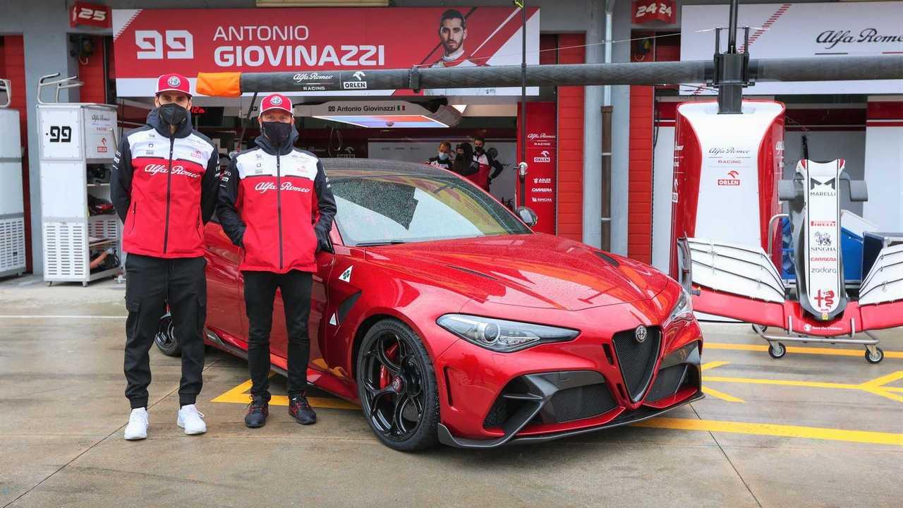 Alfa Romeo Giulia GTAm in Imola