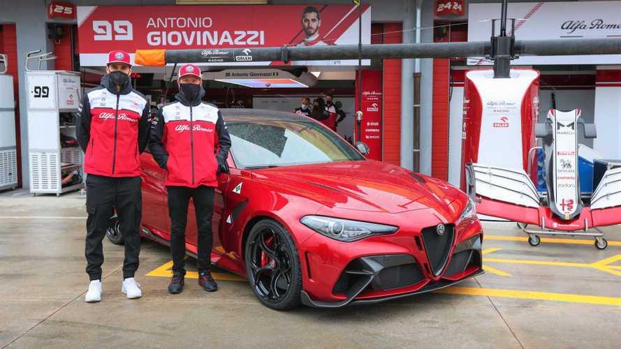 A Forma-1 imolai futamán debütál mozgásban az Alfa Romeo Giulia GTAm