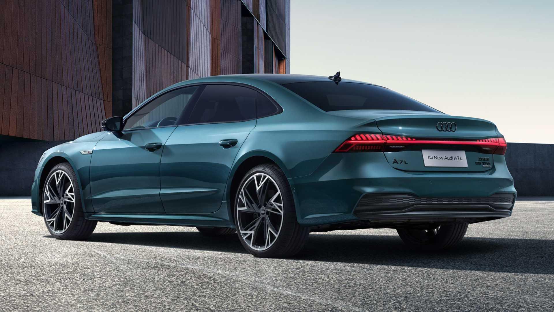 Audi A7 L (2021) für China: Limousine statt Sportback