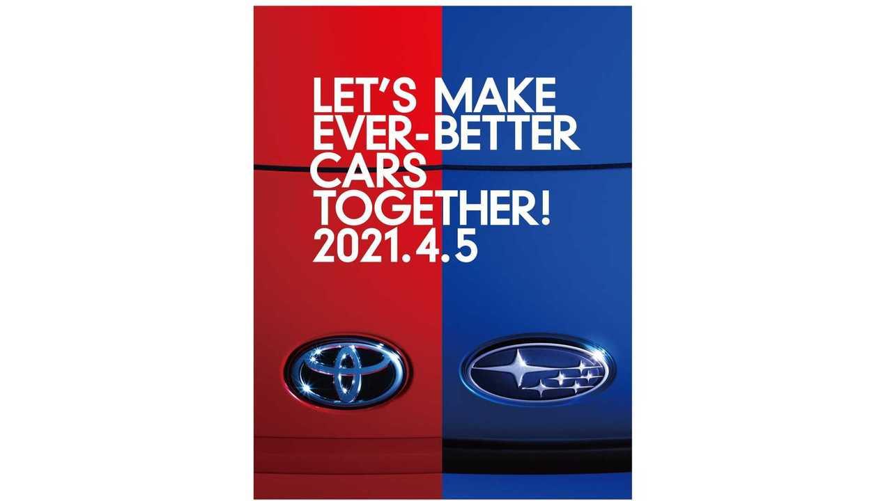 Toyota dan Subaru sebarkan teaser model baru