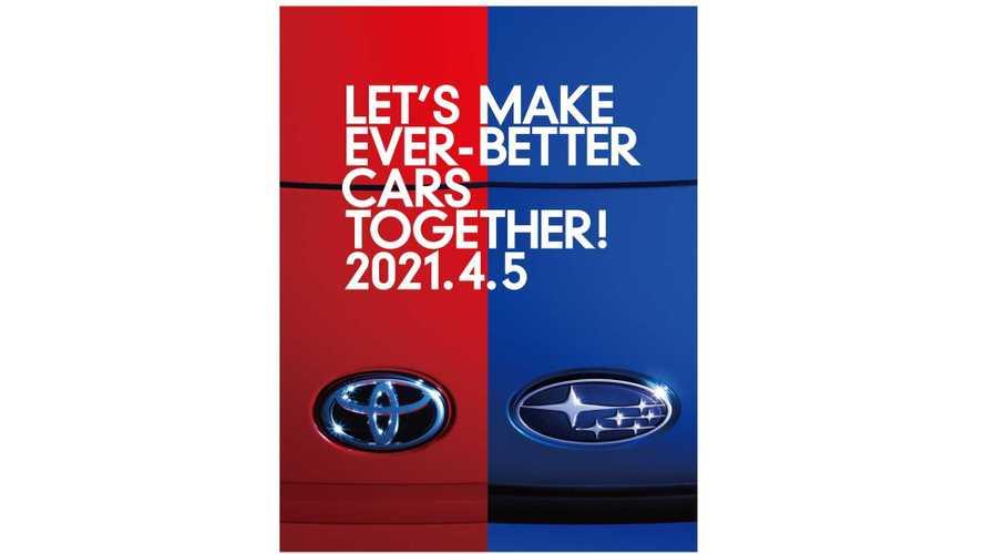 Toyota и Subaru раскрыли дату премьеры новой совместной модели