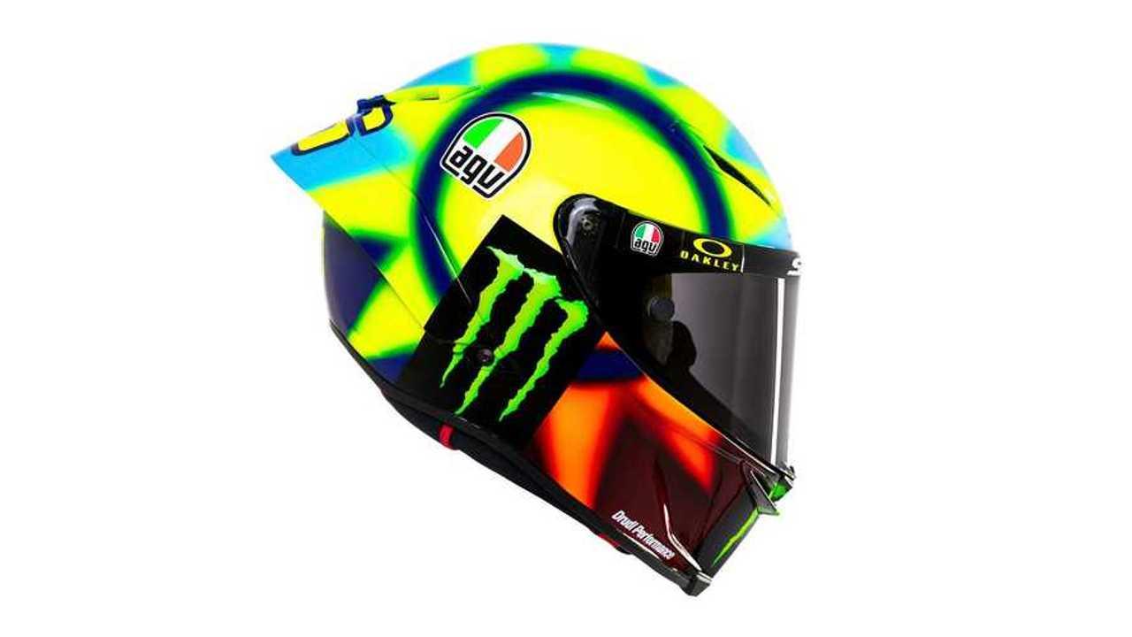 Valentino Rossi: AGV Soleluna 2021 Helmet - Profile, Right