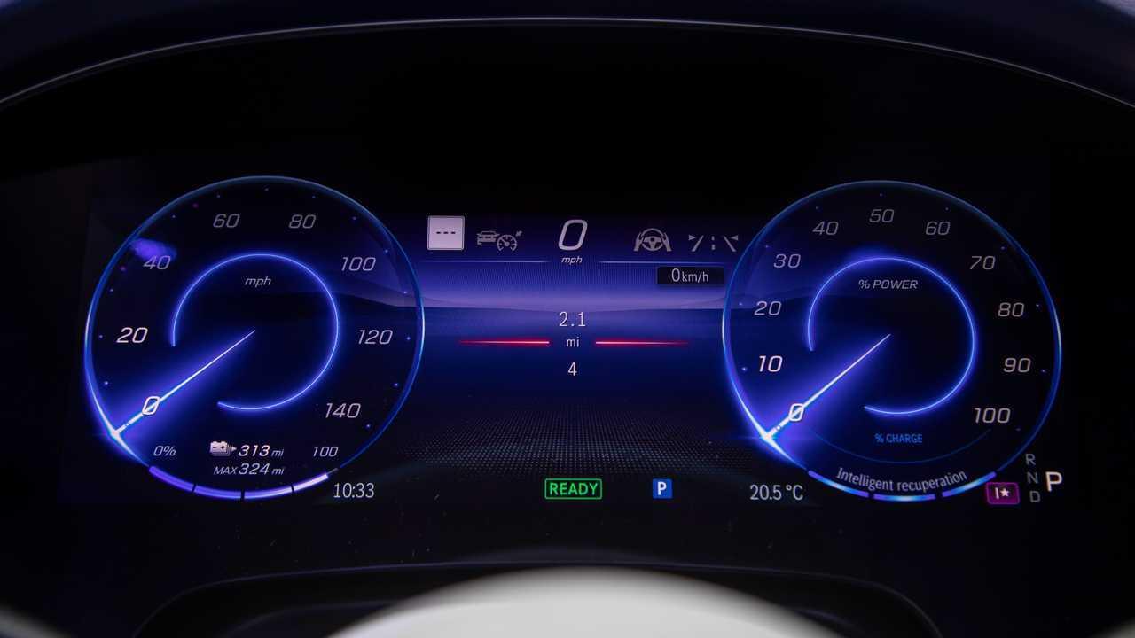 2022 Mercedes-Benz EQS 450 Interior Infotainment