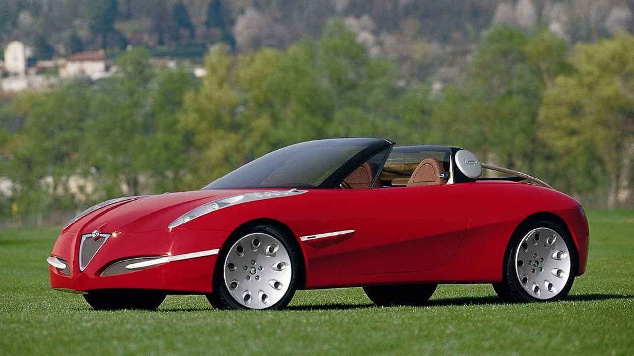 Slideshow Alfa Romeo 50 anni di Spider Concept