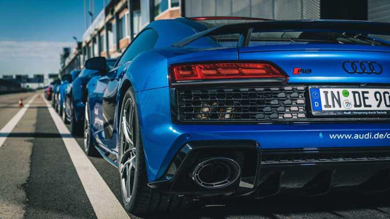 Curso sportscar de la academia Audi driving experience