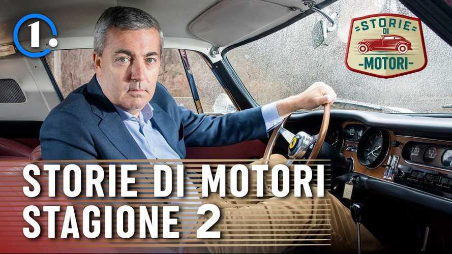 """Torna """"Storie di Motori"""", la serie su personaggi e miti dell'auto"""