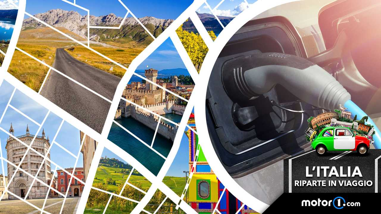 20 idee per viaggiare in auto elettrica due