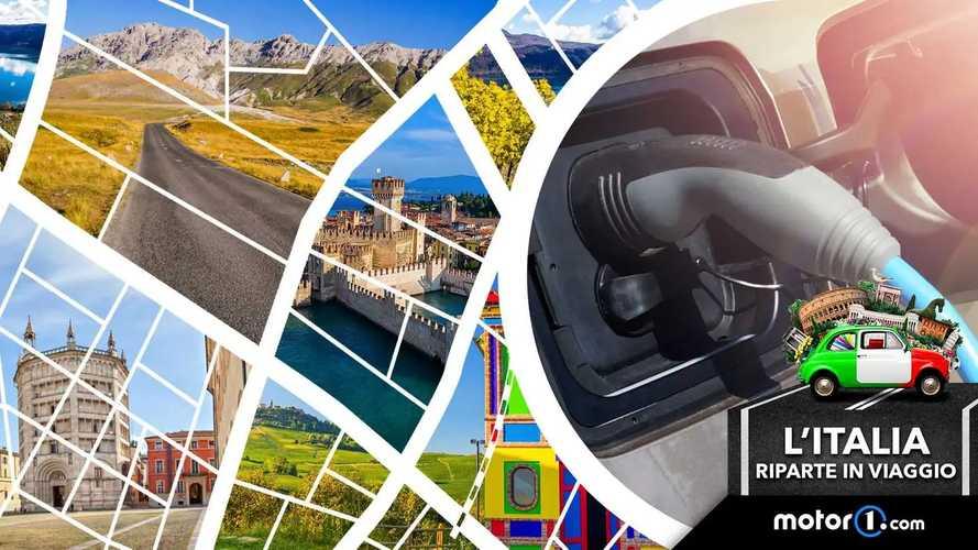 Ecco 20 idee per viaggiare in auto elettrica