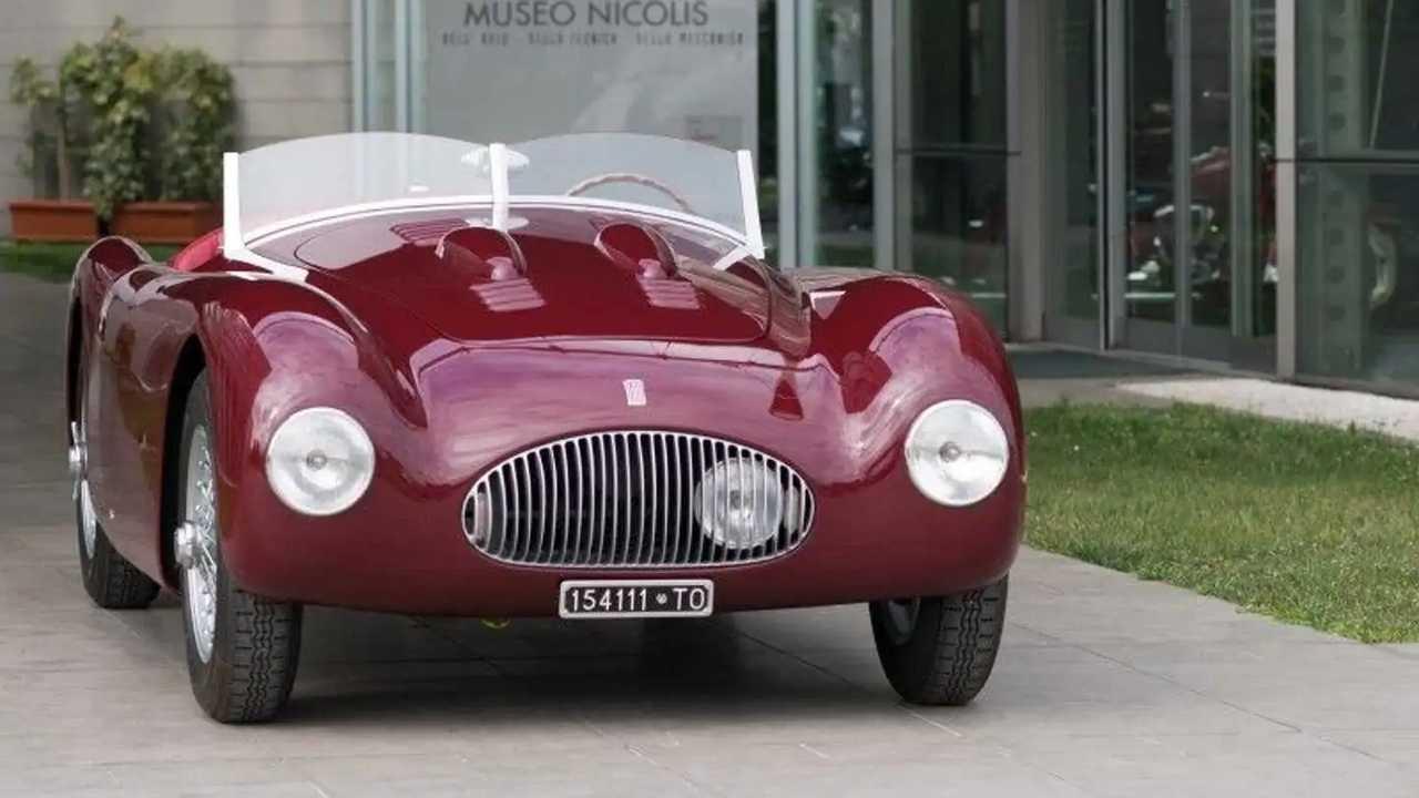Fiat 1100 Sport Barchetta Mille Miglia, Motto, 1948