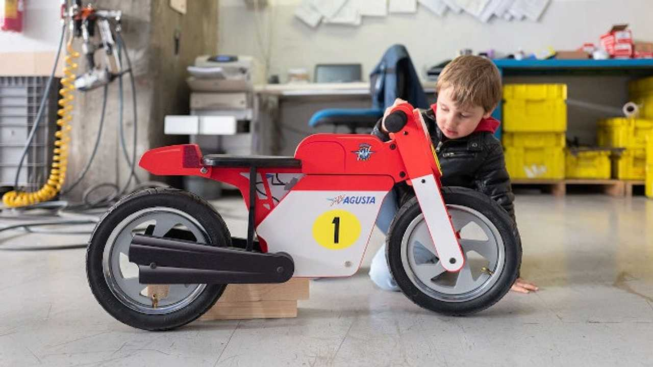 Start 'Em Young With This MV Agusta Balance Bike