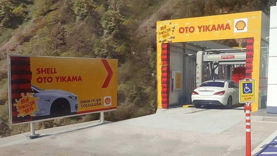 Shell bu sefer de araç yıkamada farklılık sağlamak istiyor