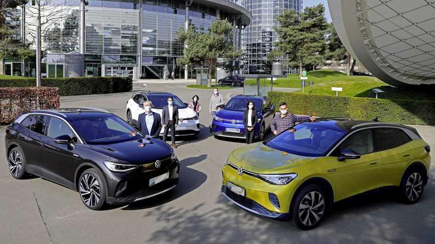 Aguardado no Brasil, elétrico Volkswagen ID.4 tem 1ª entrega na Alemanha