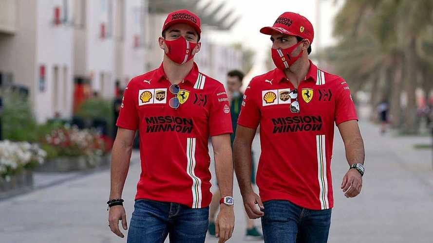 "Leclerc celebra la llegada de Sainz: ""Contagia euforia a Ferrari"""