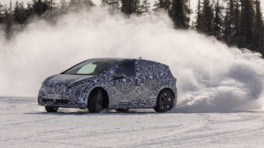 See Cupra Born Winter Testing Near The Arctic Circle