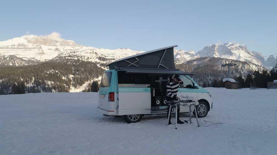 Volkswagen California porta la musica sulle vette più belle d'Italia