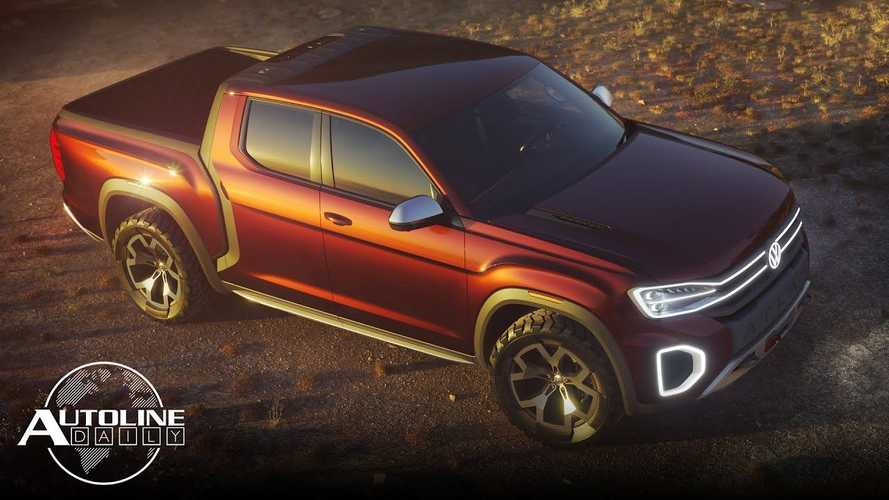 Volkswagen Might Develop Midsize And Full-Size Electric Pickup Trucks