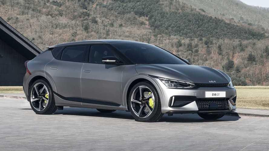 Kia EV6 (2021): Topversion GT mit 584 PS und 3,5-Sekunden-Sprint