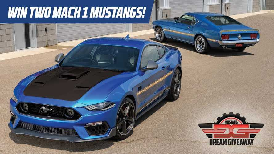 Enter Now For Chance To Win Old And New Mustang Mach 1 Plus $35,000 Cash