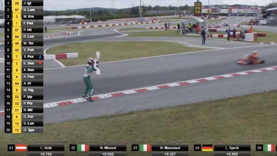 Un pilote de karting écope d'une suspension de 15 ans