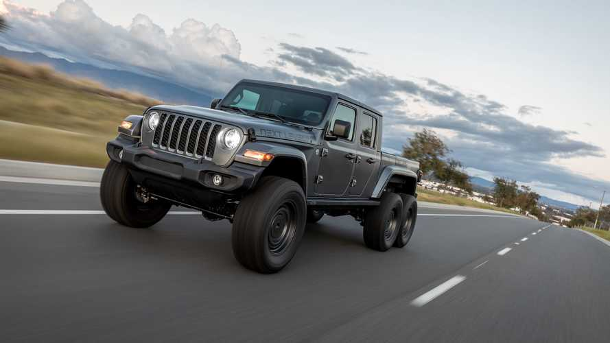 Jeep Gladiator 6x6, ecco la proposta di Next Level