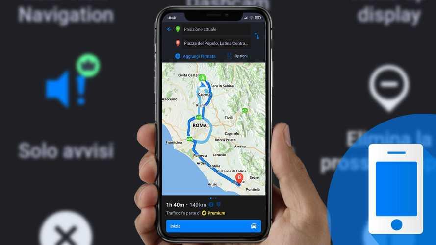Come funziona l'app di navigazione Sygic GPS Navigation