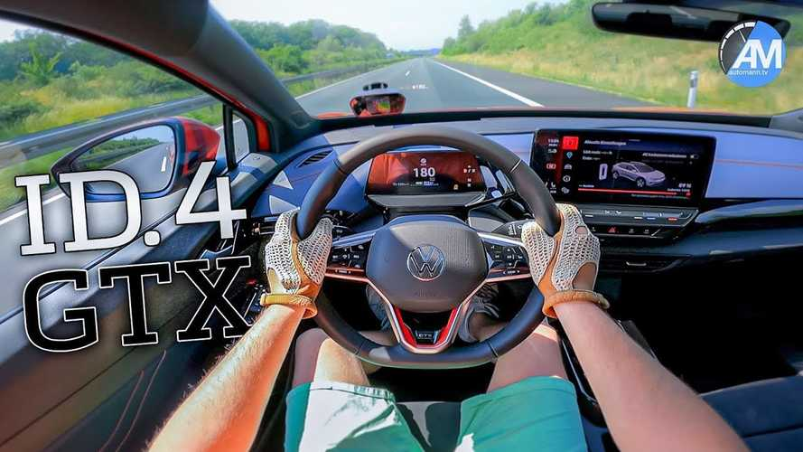 Volkswagen ID.4 GTX acelera até 180 km/h na Autobahn - vídeo