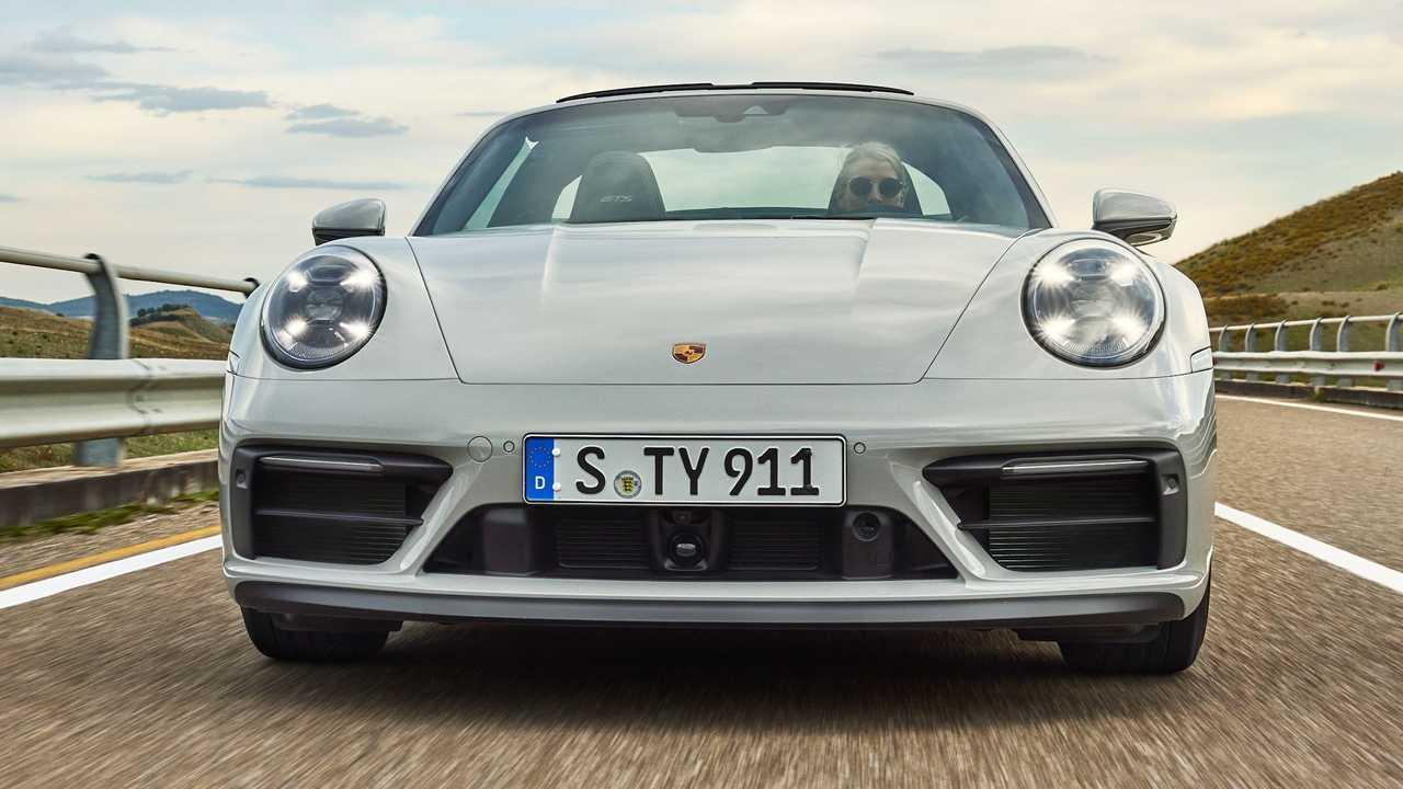 2022 Porsche 911 Targa 4 GTS előlap