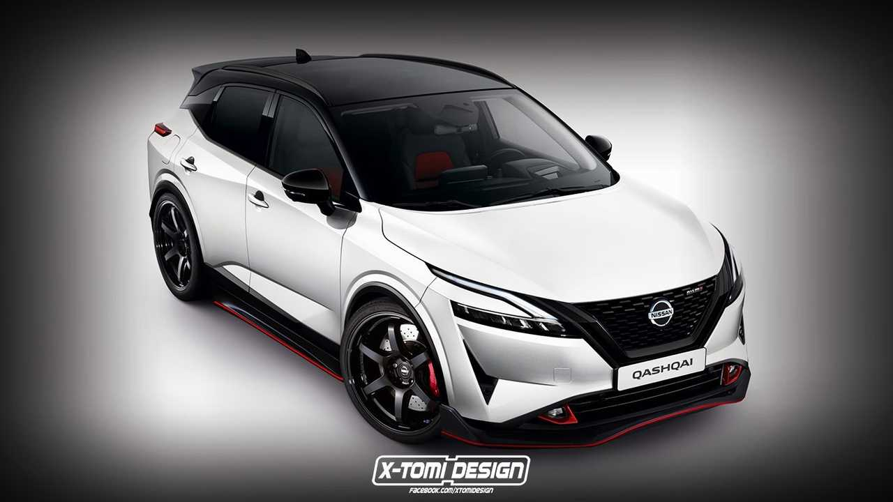Nissan Qashqai / Rogue Sport Nismo rendering