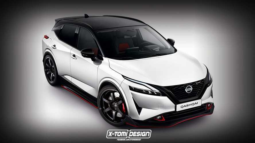 Nissan Rogue Sport Nismo Rendered To Imagine What Won't Happen