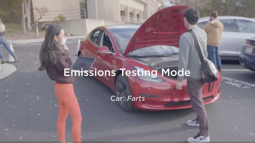 Watch This: Tesla Uses Car Farts To Recruit New Employees