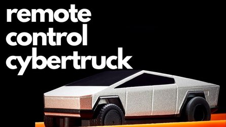 Watch Sold Out Hot Wheels RC Tesla Cybertruck Do Donuts and Jumps