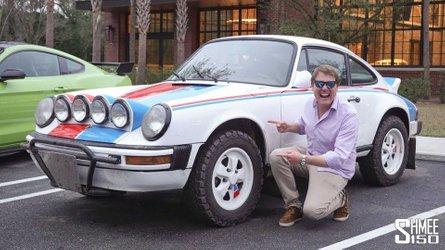 Custom Porsche 911 Safari doesn't mind getting dirty