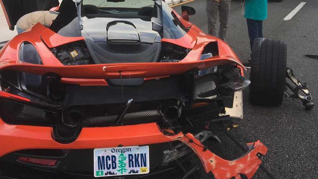 McLaren összetörve