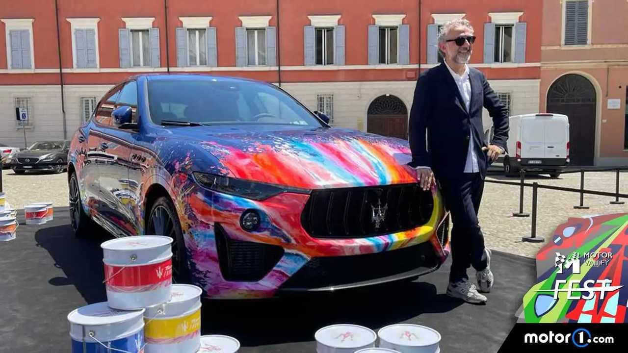 Maserati Levante dai mille colori