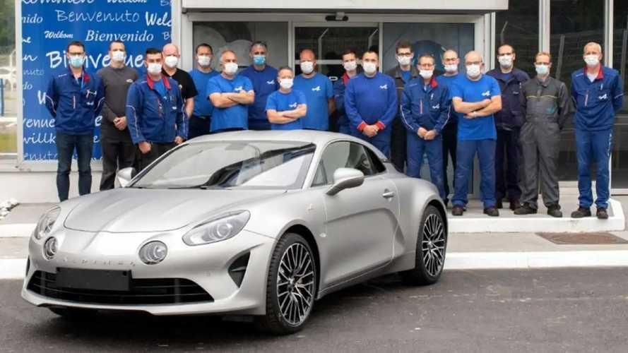 Alpine ya ha fabricado más de 10.000 unidades de su A110