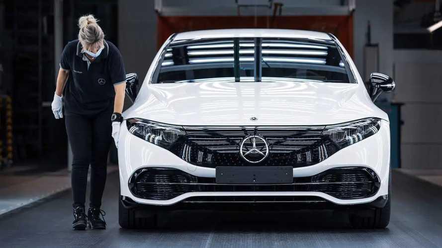 Mercedes–Benz объявил цены на новый EQS