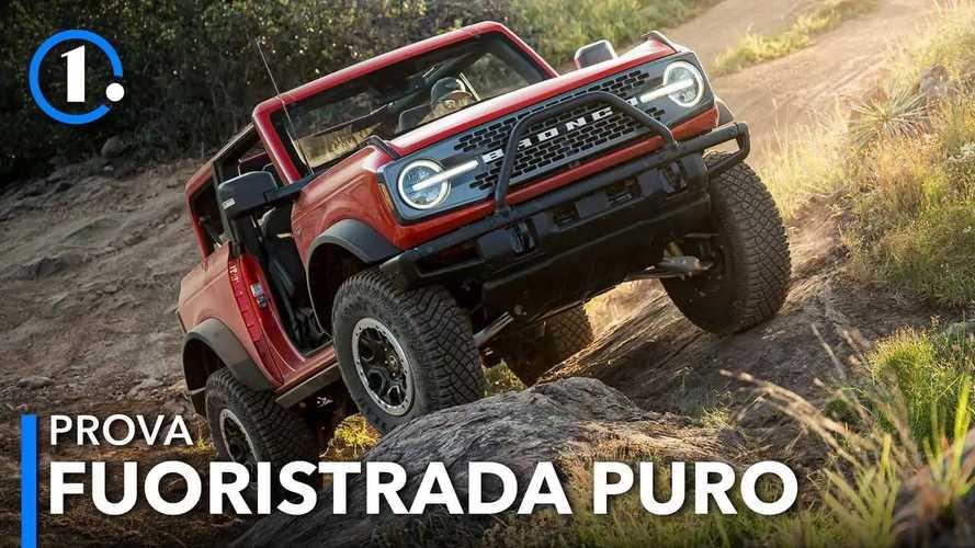 """Ford Bronco, la prova negli USA del fuoristrada """"selvaggio"""""""