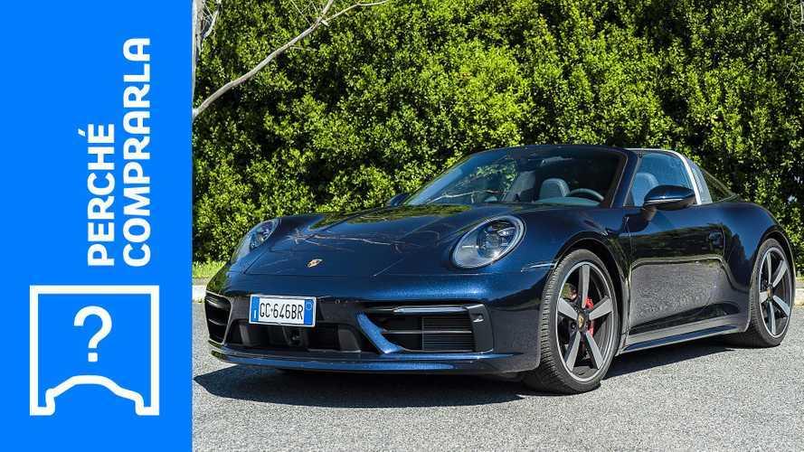 Porsche 911 Targa (2021), perché comprarla e perché no