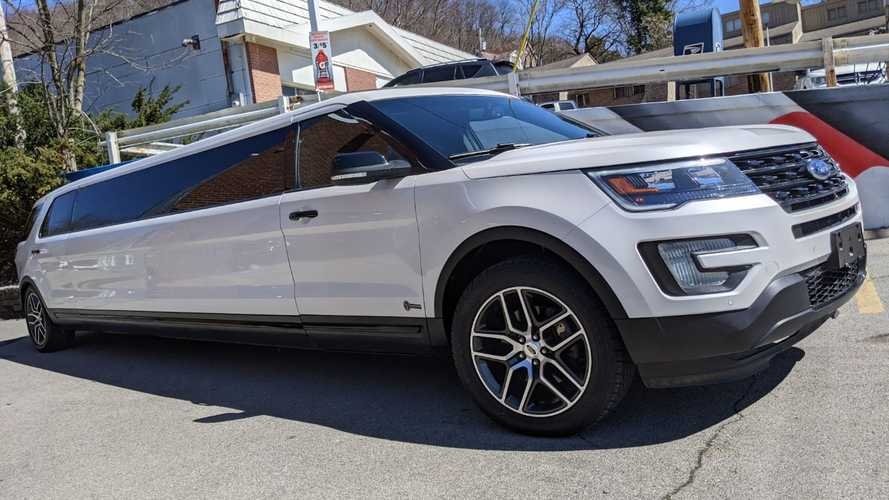 Ford Explorer Limo Still Has Three-Row Seating, And It's For Sale
