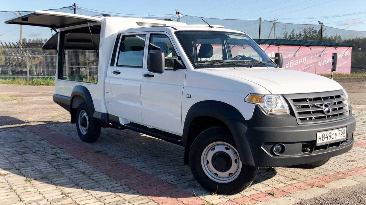 «УАЗ Профи» стал многофункциональным фургоном