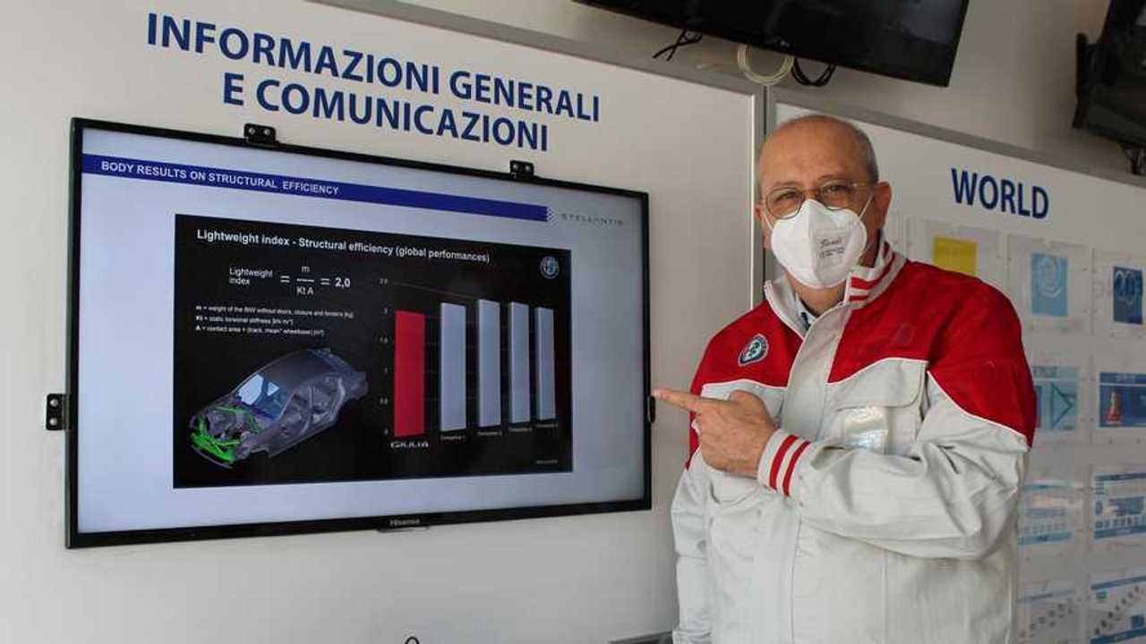 Alfa Romeo, il CEO Jean Philippe Imparato a Cassino e Pomigliano