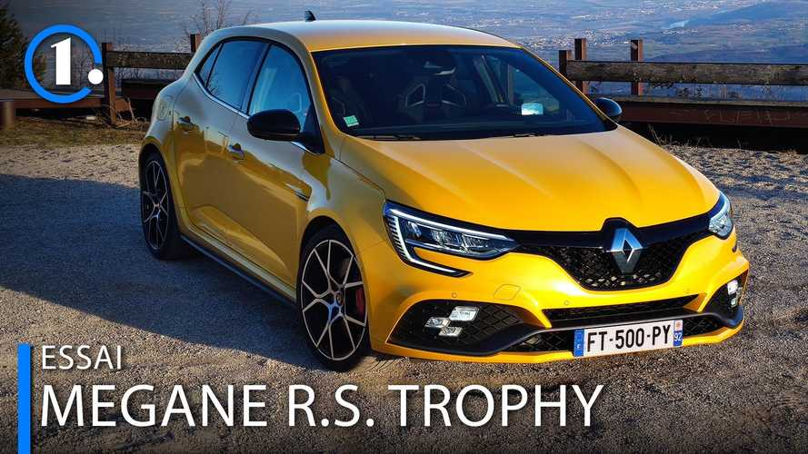 Essai Renault Megane R.S. Trophy (2021) - Comme sur des rails